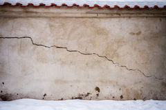 Aged street wall Royalty Free Stock Image