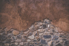 Aged street wall texture background Royalty Free Stock Photos