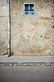 Aged street wall Royalty Free Stock Photos