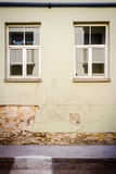 Aged street wall Royalty Free Stock Photography