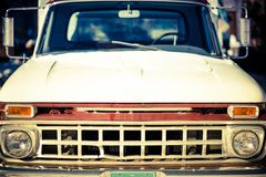 Aged Truck Front Closeup Royalty Free Stock Photo