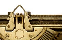 Aged typewriter Stock Photos