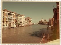 Aged venice Stock Images