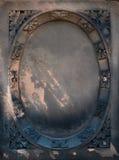 Victorian gravestone frame Royalty Free Stock Photography