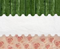 Aged vintage wedding (holiday) background. Stock Image