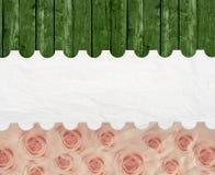 Aged vintage wedding (holiday) background. Stock Image