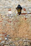 Aged Wall Lantern Royalty Free Stock Photos