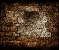 Aged wall texture with copy space Stock Image