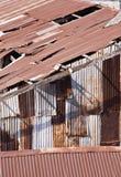 Aged warehouse Royalty Free Stock Image
