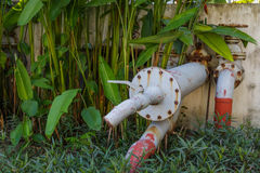 Aged water pipe Stock Photography