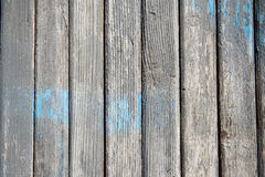 Aged weathered blue door wood texture Mediterranean background Royalty Free Stock Photo