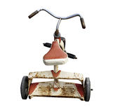 Aged weathered tricycle Stock Images