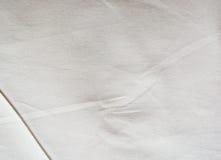 Aged white fabric Stock Image