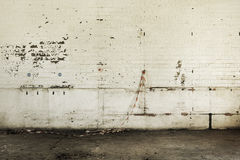 Aged white wall backdrop Stock Images