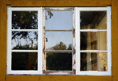Aged window Stock Image