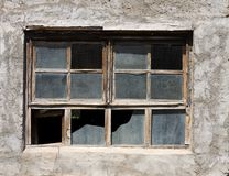 Aged window Royalty Free Stock Photos