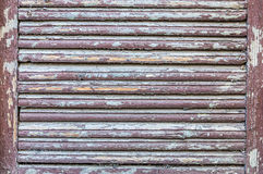 Aged window shutter Royalty Free Stock Image