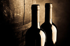 Aged wine Royalty Free Stock Images