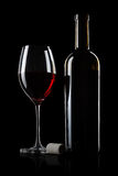 Aged wine Stock Image