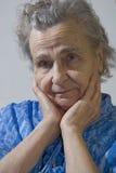 aged woman Stock Photo