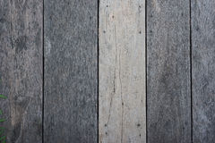 Aged wood brown plank texture background, nature pattern Stock Photography