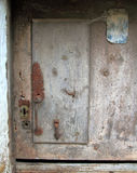 Aged wood doors weathered vintage Royalty Free Stock Images