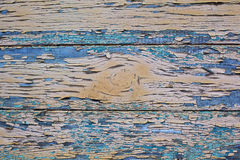 Aged wood painted texture Stock Images