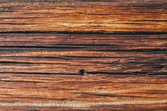 Aged wood planks texture pattern. Wooden surface. Horizontal ti. Brown wood texture and background Stock Photos