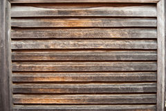 Aged Wood Shutter Stock Photo