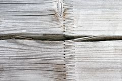 Aged wood Texture wih joint, White Wooden Background stock images