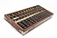 aged wooden abacus Royalty Free Stock Photography