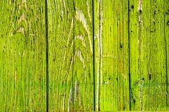 aged wooden background of green boards stock image