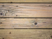 Aged wooden boards Stock Images
