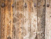 Aged wooden door Royalty Free Stock Photography