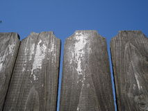 Aged wooden fence Royalty Free Stock Photography