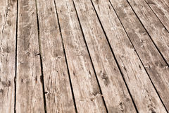 Aged wooden floor background Royalty Free Stock Photography