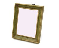An aged wooden frame Royalty Free Stock Photos
