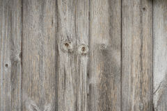Aged wooden panelling. Vintage aged wooden panels background texture Stock Image