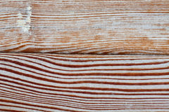 Aged wooden plank textured background, shabby surface pattern. Macro photo up view Stock Image