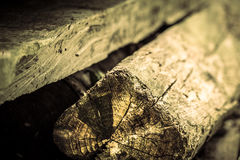 Aged wooden planks Stock Photography