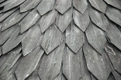 Aged wooden roof Royalty Free Stock Image