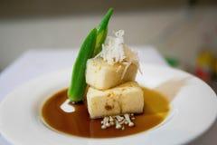 Agedashi Tafu Stock Foto's