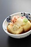 Agedashi tofu, japoński jedzenie Zdjęcia Stock