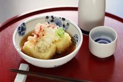 Agedashi tofu, japoński jedzenie Zdjęcie Stock