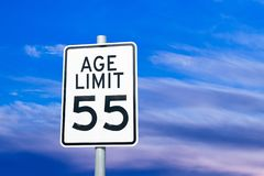 Free Ageism Discrimination Social Issue Sign Concept Royalty Free Stock Photography - 141209427