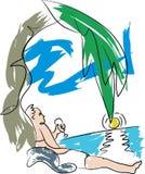 Agence de voyages et tourisme illustration libre de droits