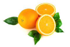 Agencement d'orange Image stock