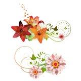 Agencement de fleurs illustration libre de droits