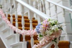 Agencement de fleurs rose Image stock