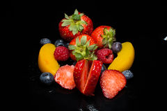 Agencement de fruit Image stock
